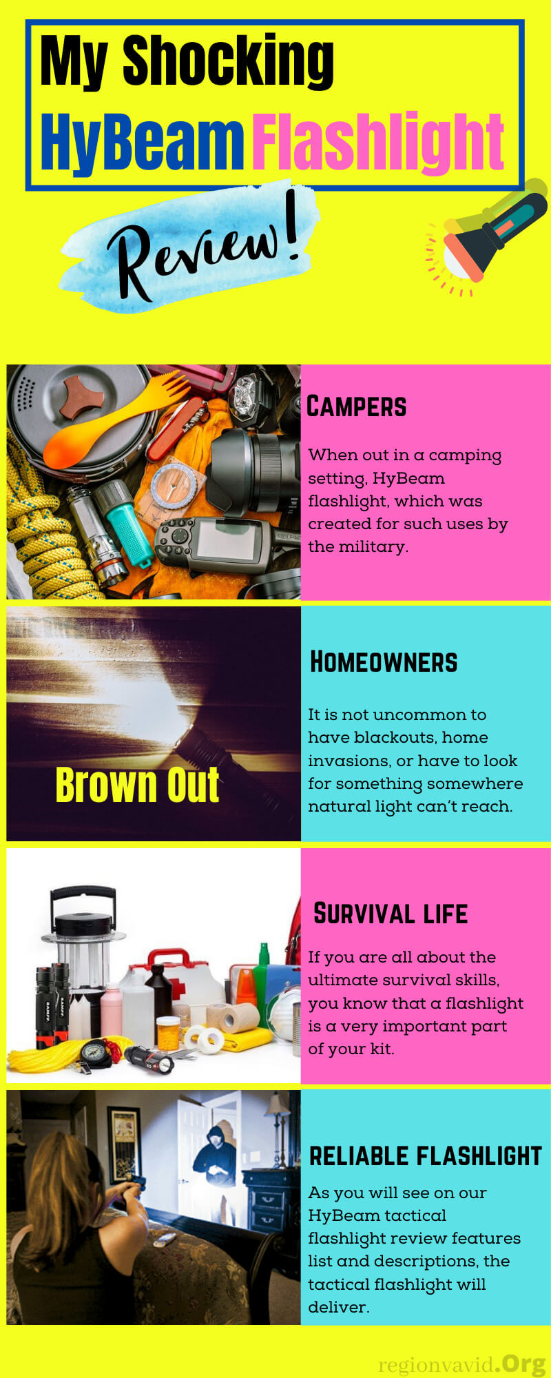 HyBeam Flashlight Benefits