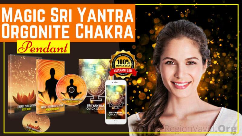 Magic Sri Yantra Orgonite Chakra Pendant Attract Positivity Now