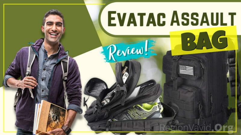 Evatac Assault Bag Review