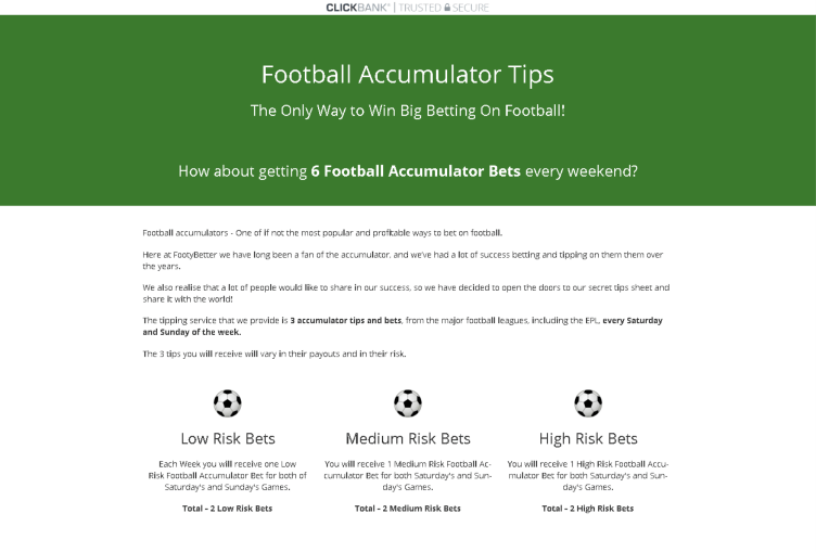 Football Accumulator Tips Review