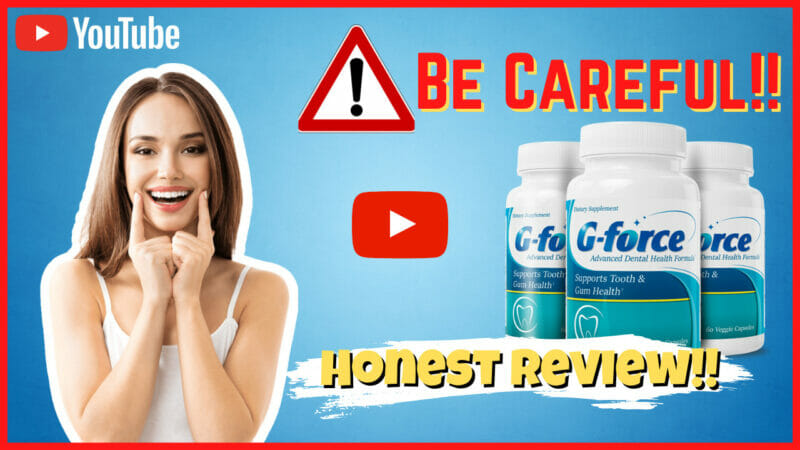 G-force Supplement - Does It Really Work? - In-Depth Review