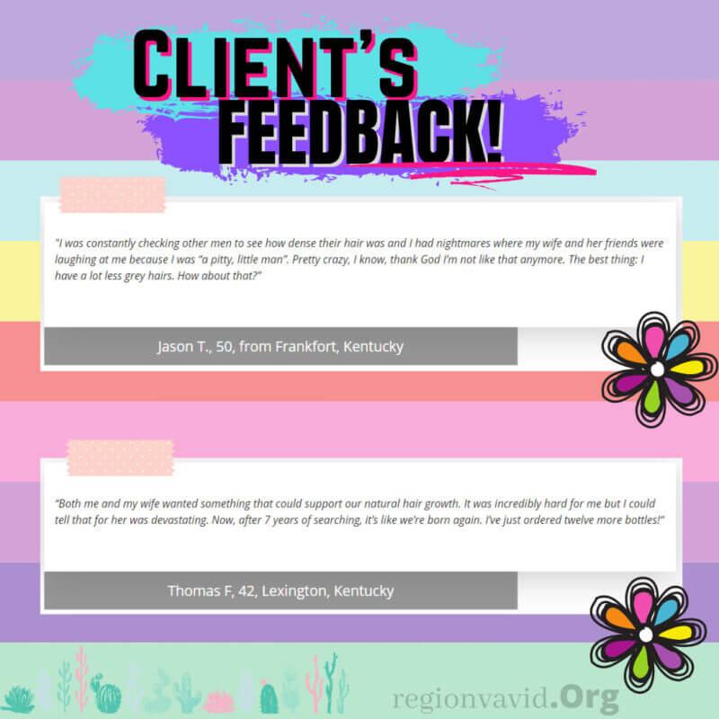 HairFortin Review Client Testimonials