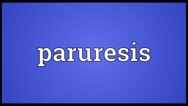 Paruresis