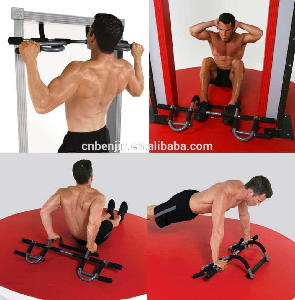 different pull-up exercises