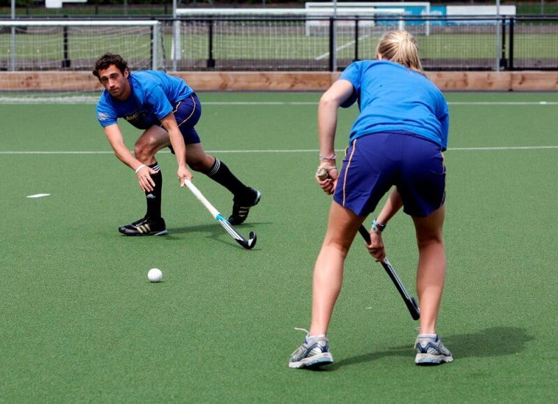 hockey training session