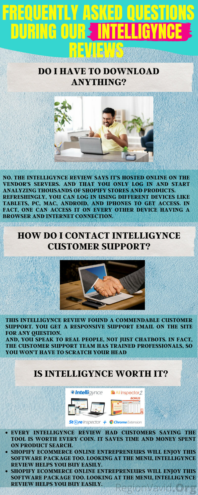 Intelligynce Benefits