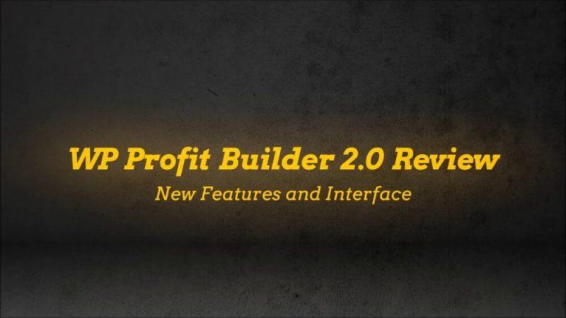 wp profit builder 2.0