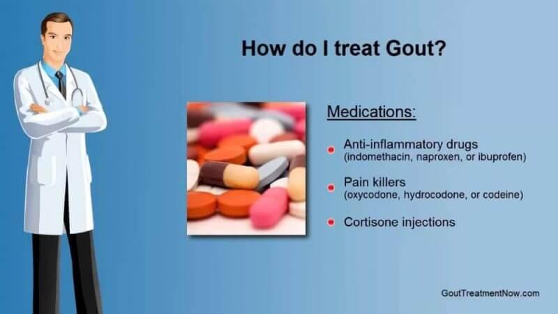 how do i treat gout