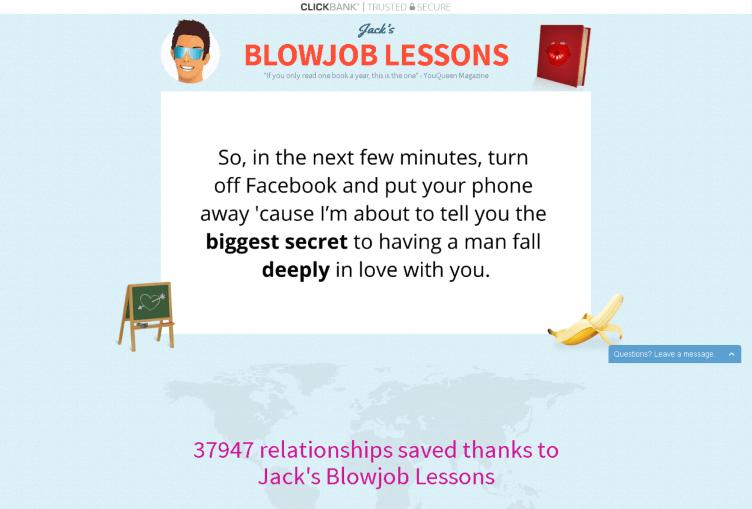 Jack's Blowjob Lessons Review