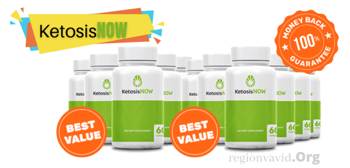KetosisNOW Product with Money Back Guarantee