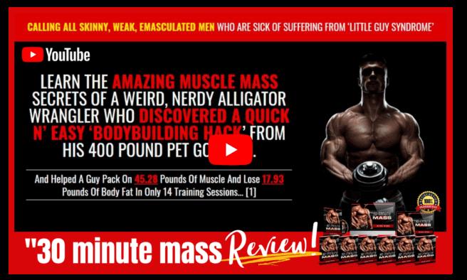 30 Minute Mass Amazing Muscle Mass