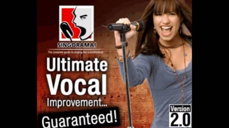 singorama and a woman singing alongside
