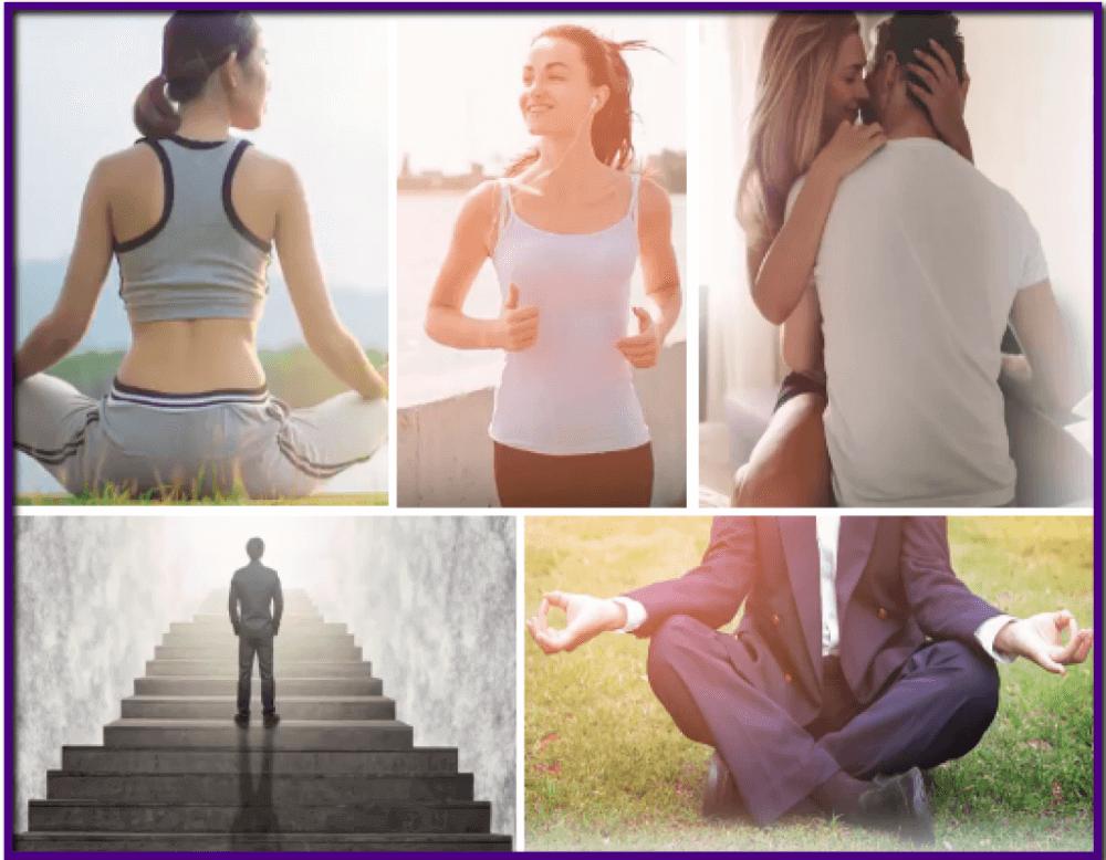 woman's meditation