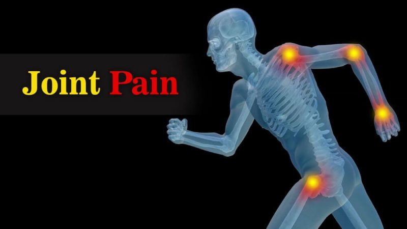 skeleton showing joint pain