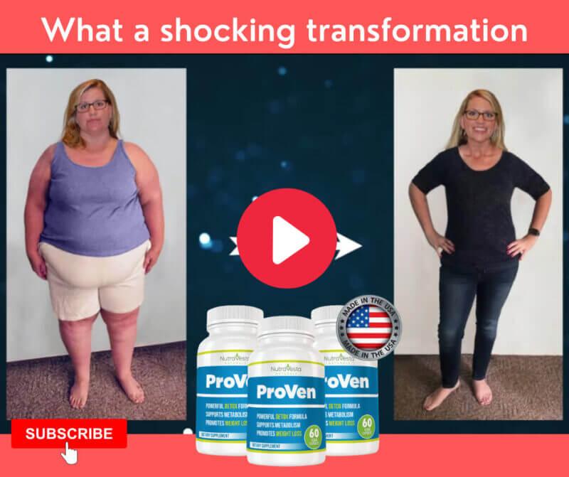 Nutravesta Proven shocking transformation