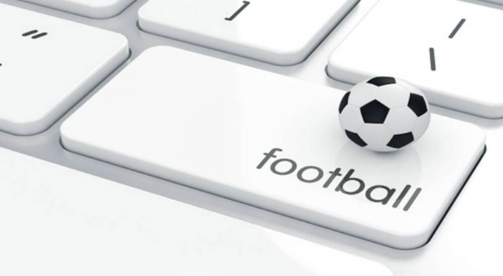 ball on a keyboard written football