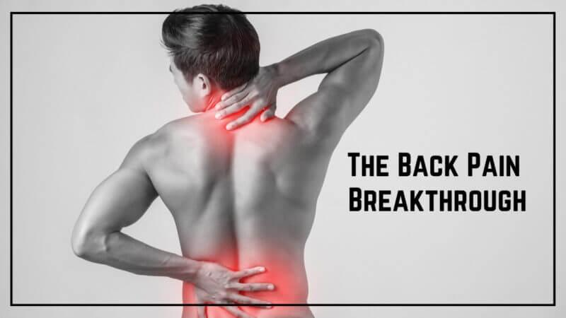 The back pain breakthrough