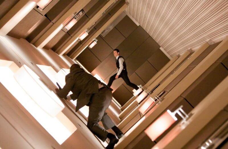 men in a room