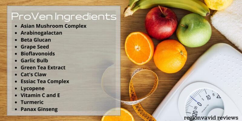Nutravesta Proven Ingredients