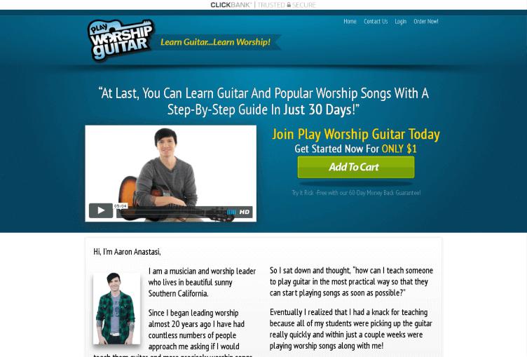 Play Worship Guitar Review