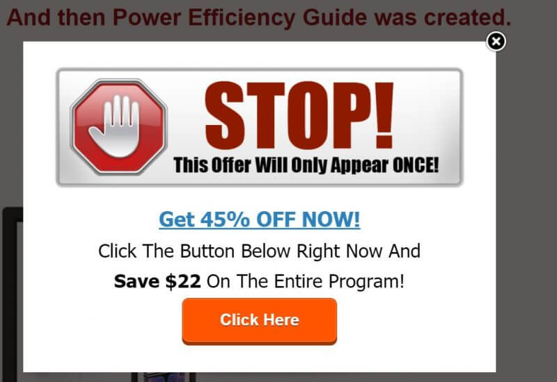 power efficiency guide promo