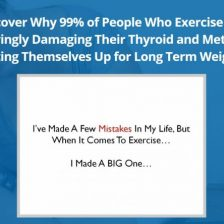 The Hypothyroidism Exercise Revolution Review - Pros, Cons & My Honest Thoughts!