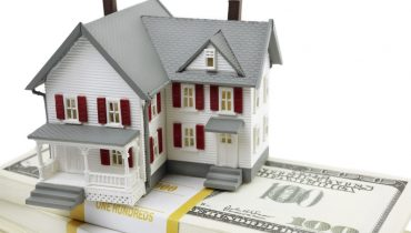 house model on money