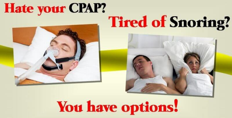 people with snoring and apnea problems