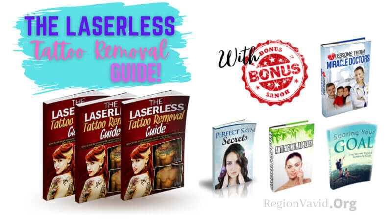 The Laserless Tattoo Removal product Guides