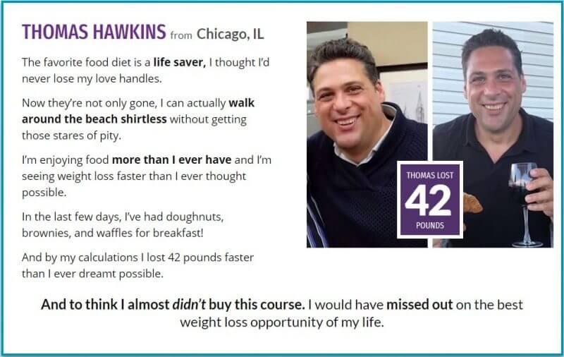 THOMAS HAWKINS Testimonial
