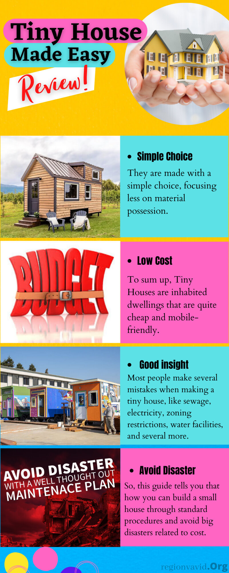 Tiny House Made Easy And Budget Friendly