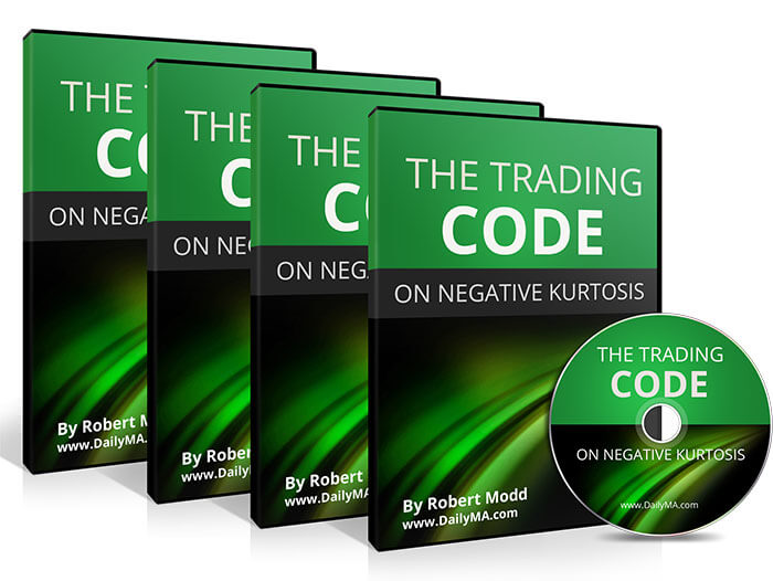 The Trading Code on Negative Kurtosis