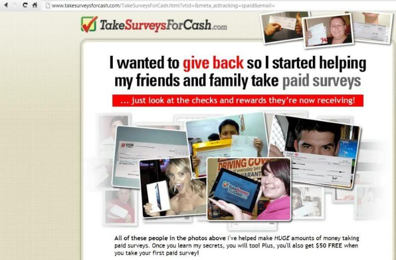 Take Surveys For Cash Review - The Truth is Exposed!