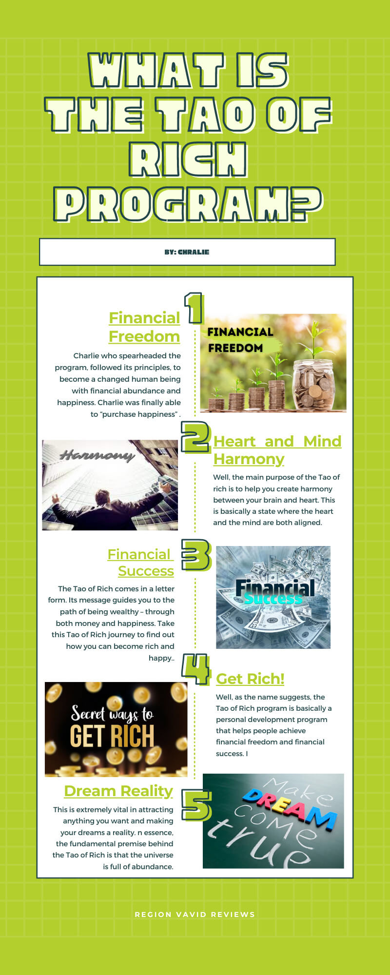 Tao Of Rich What is the Program all About