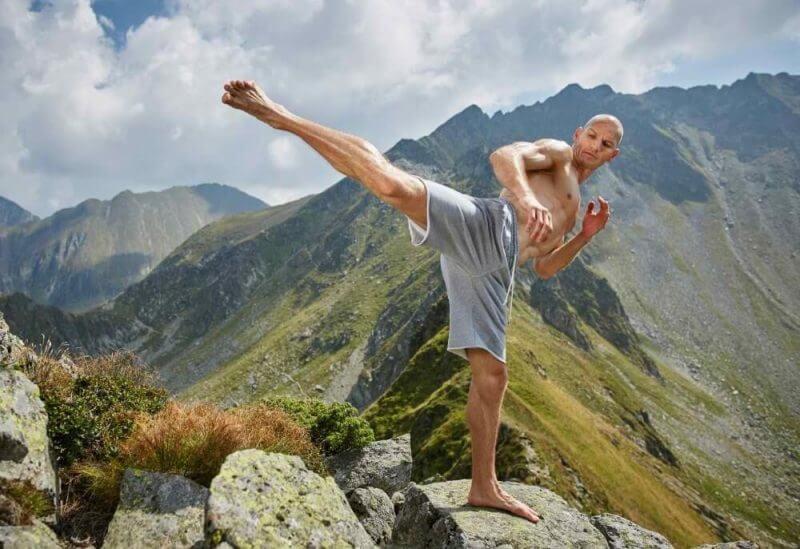 musculine man training