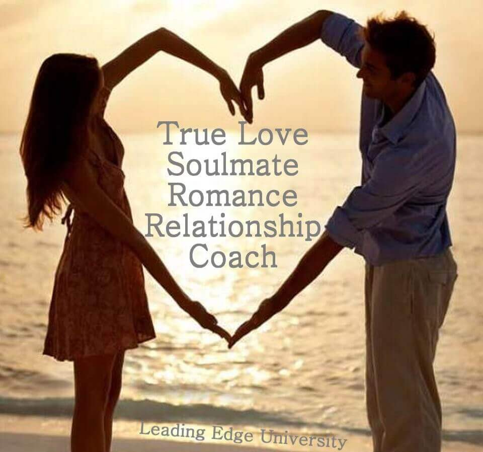 true love soulmate romance relationship coach and a man and woman joining hands