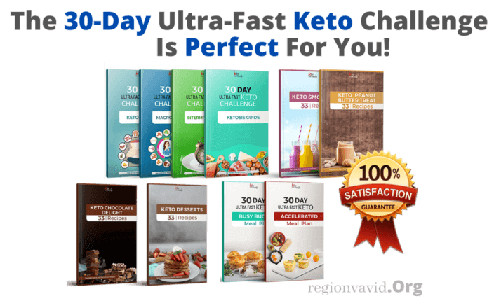 30-Day Ultra Fast Keto Challenge Program With 100% Satisfactions