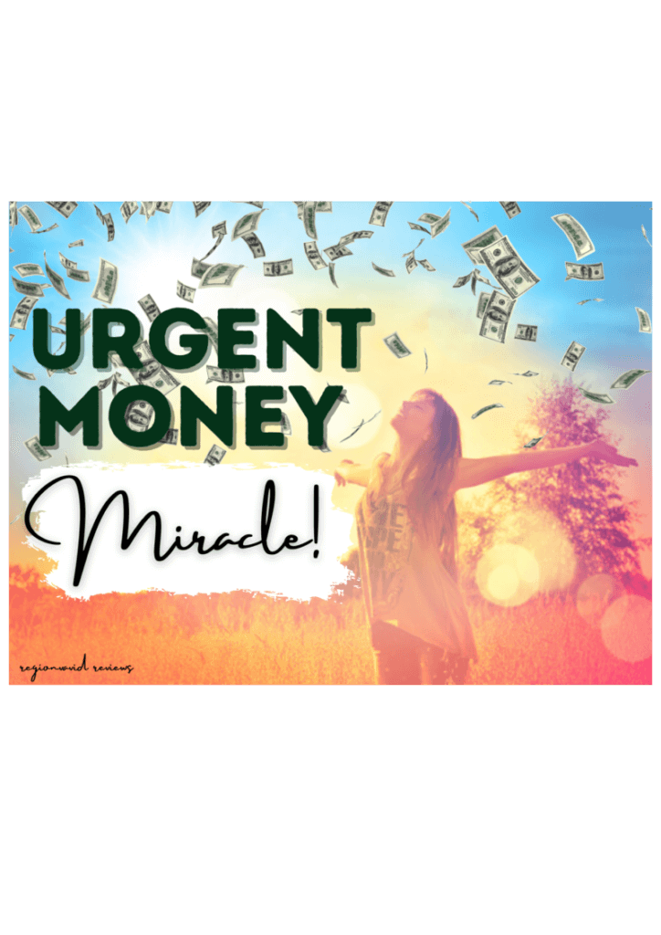 Urgent Money Miracle make more money