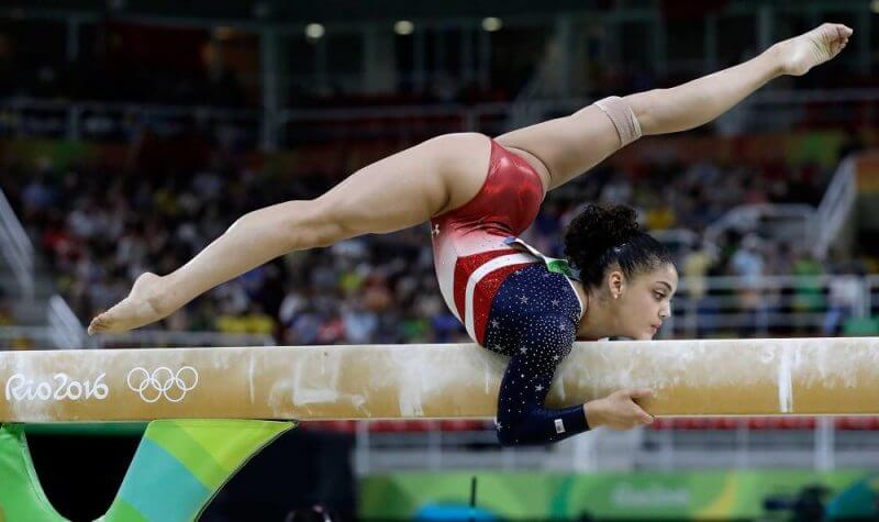 Woman gymnastic