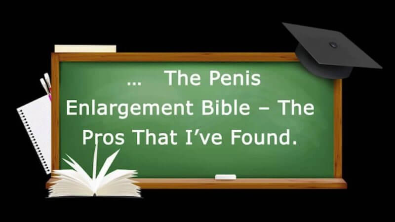 the penis enlargement review on a dust board