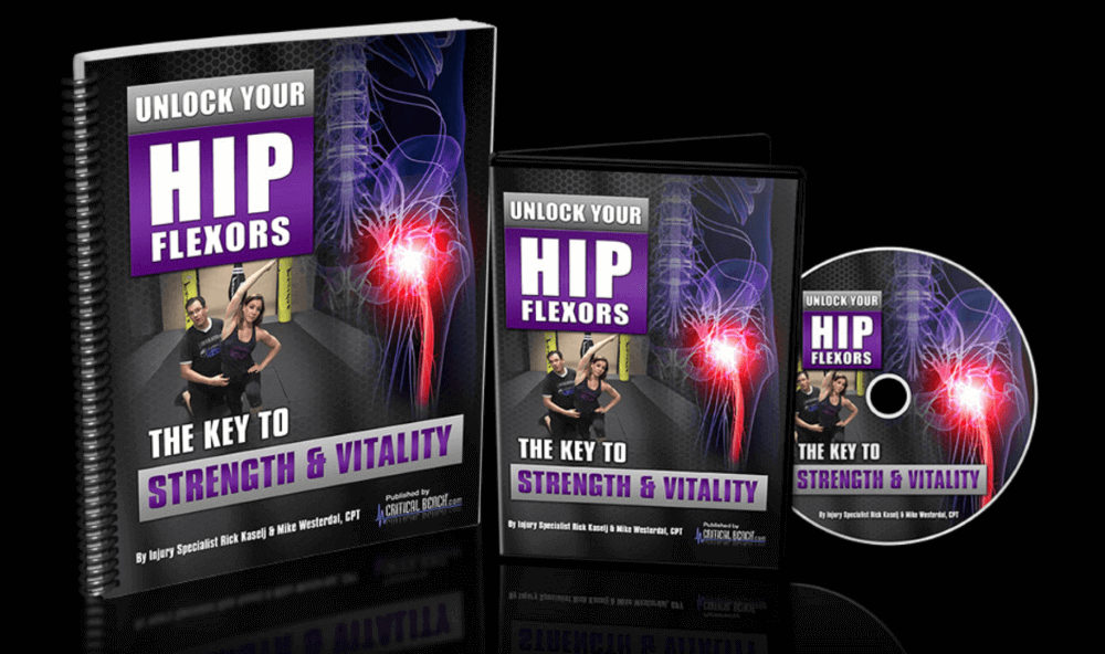 Unlock your hip flexors products