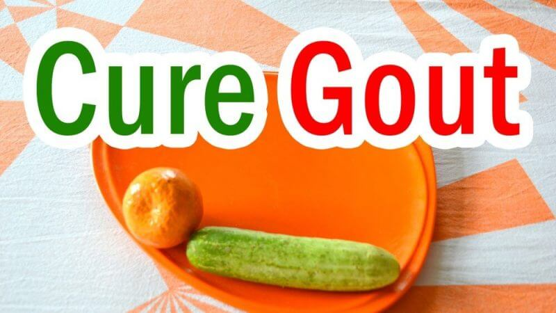 cure gout and some fruits