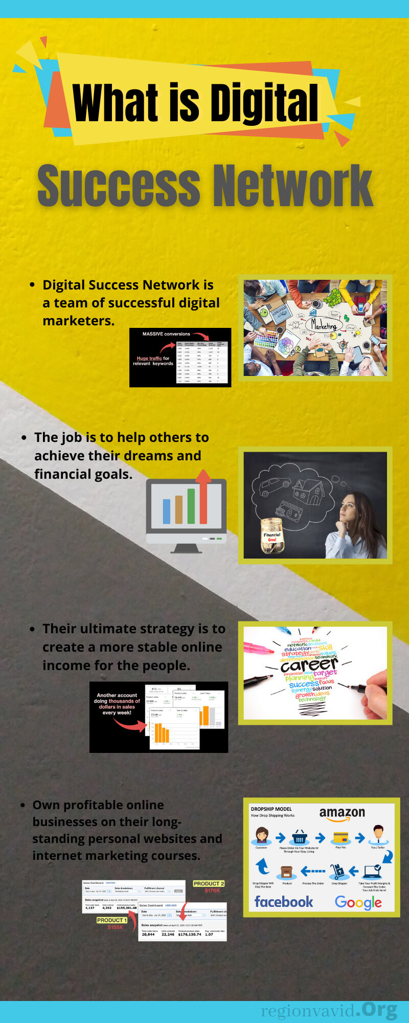 Digital Success Network Product explanation
