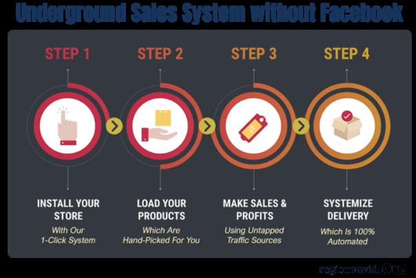 Digital Success Network Steps without FACEBOOK
