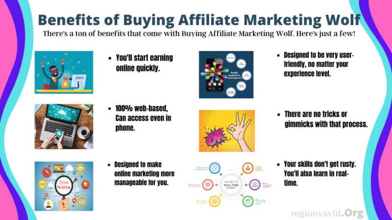 Affiliate Marketing Wolf Benefits of buying
