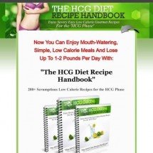 The HCG Diet Recipe Handbook Review - Works or Just a SCAM?