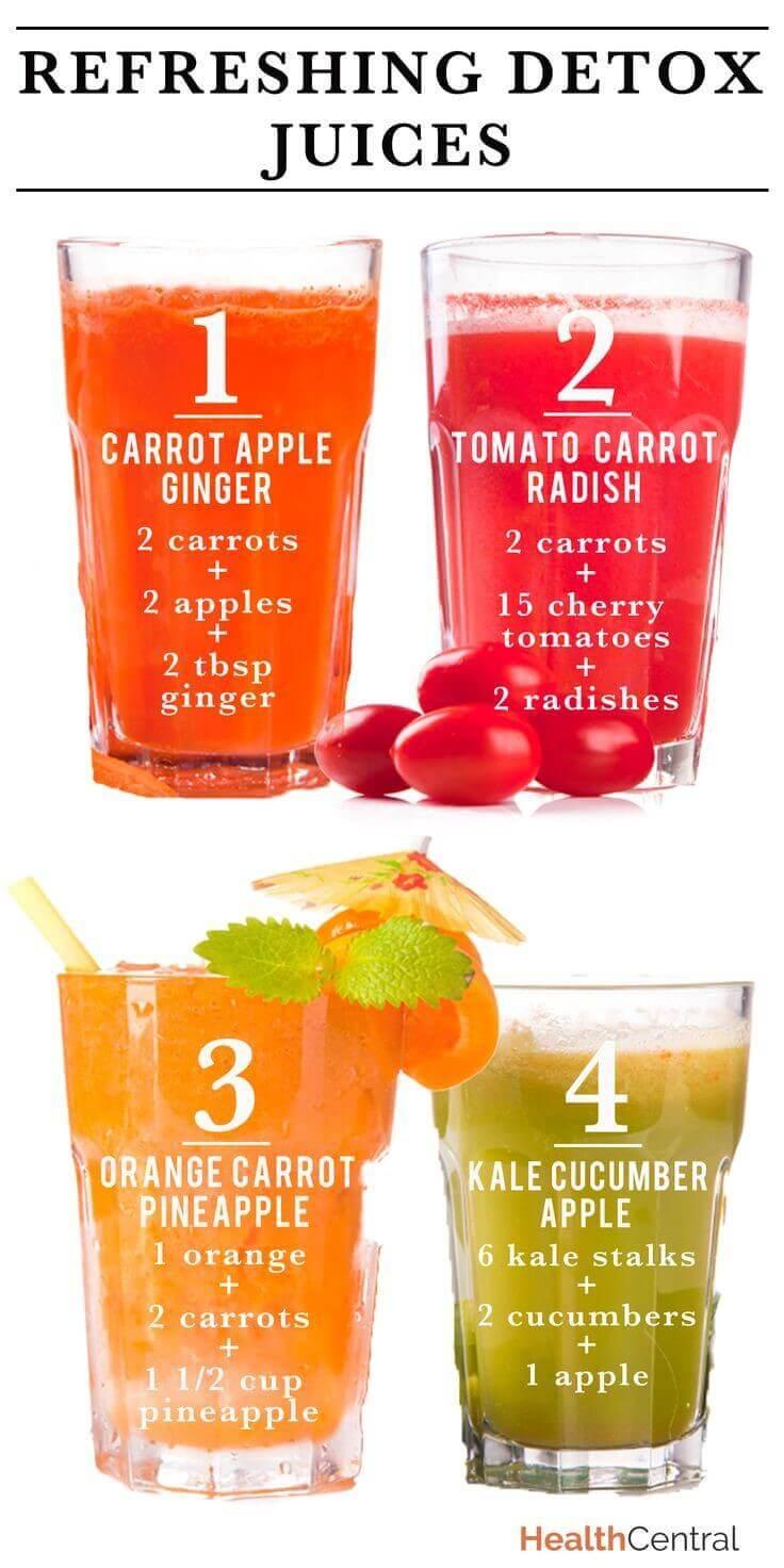 refreshing detox juice