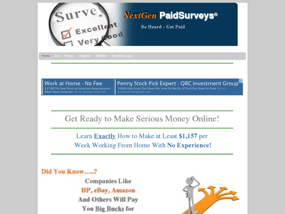 nextgen paid surveys