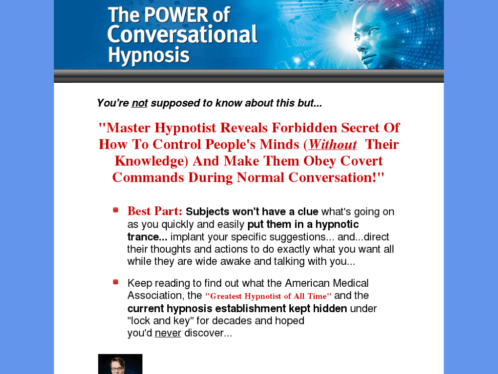 the poer of conversational hypnosis review