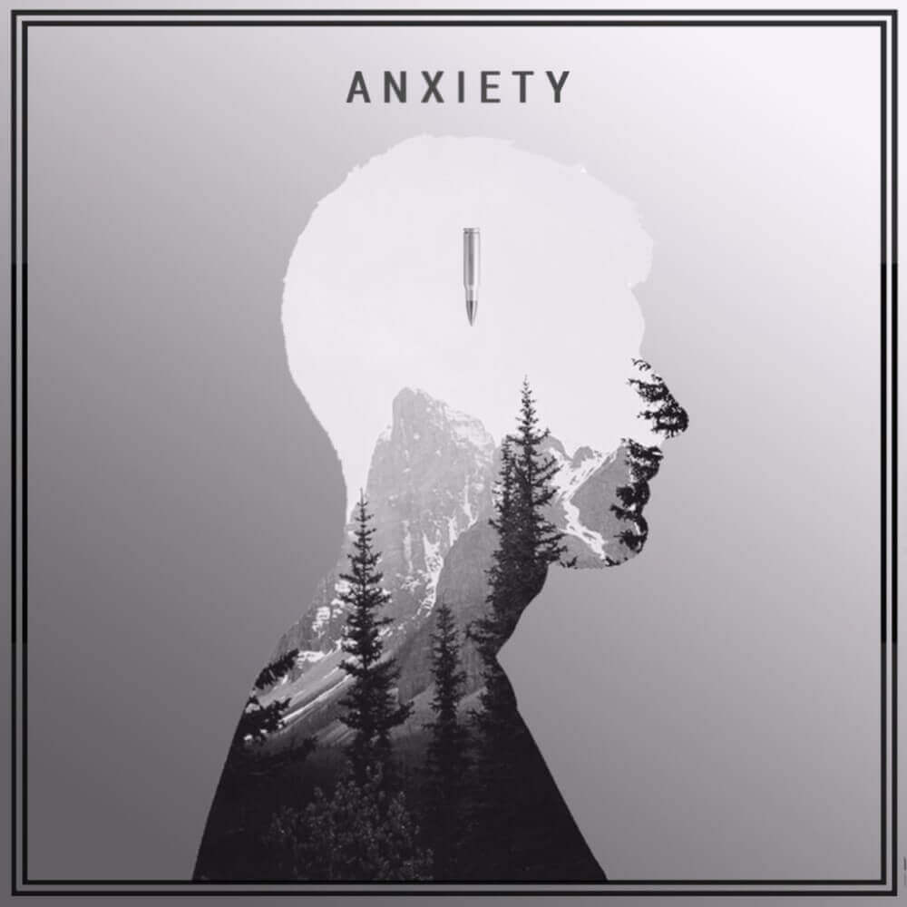 man and anxiety